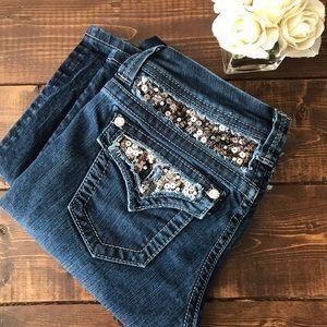 Miss Me Jeans, Size